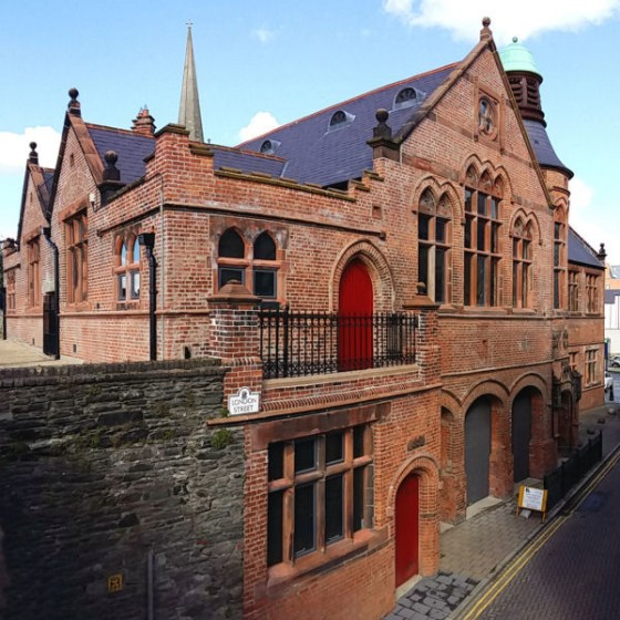 Former Cathedral School, Derry, Restoration (PBW) 01