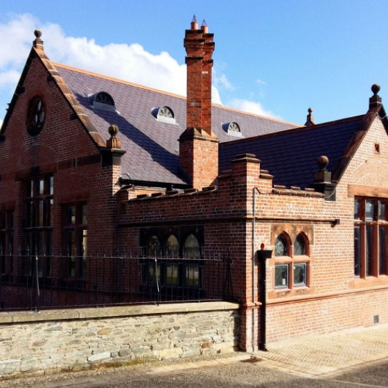 Former Cathedral School, Derry, Restoration (PBW) 02