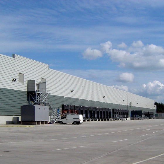 Lidl Distribution Centre, Nutts Corner 01