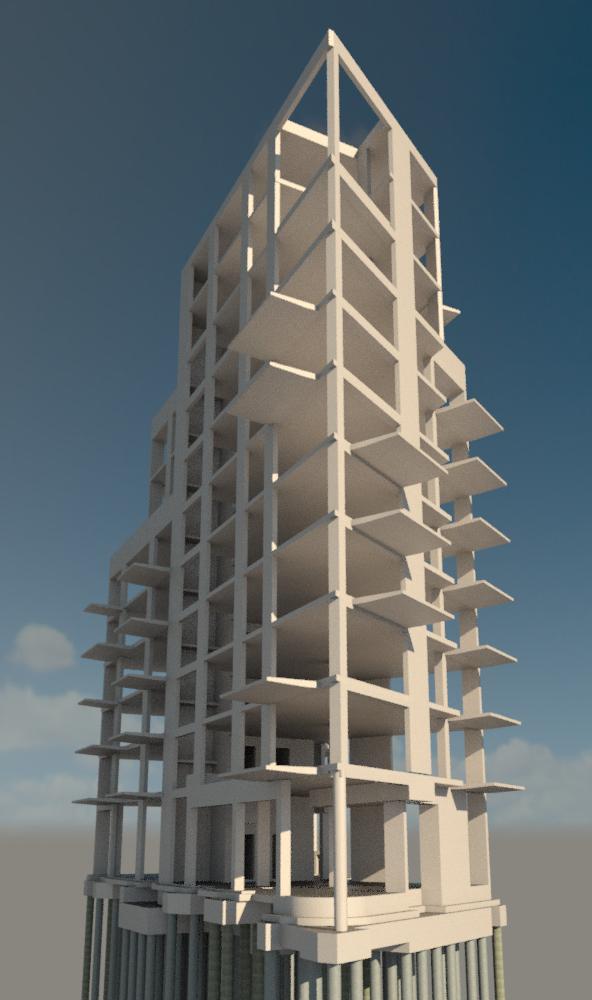 A Block Bridport Place, London...
