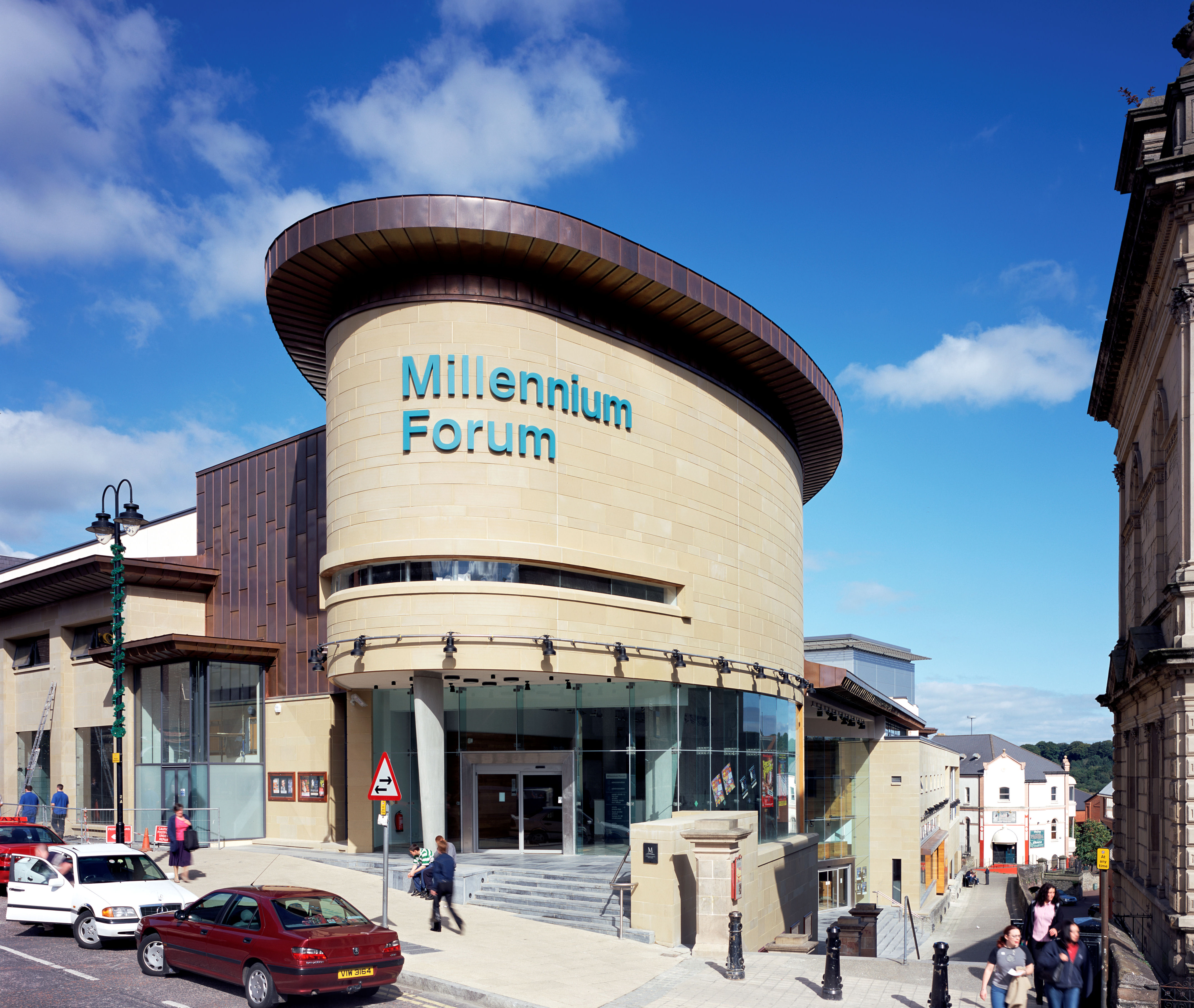 Millennium Forum Derry on House On Sloping Block